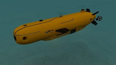 Lockheed Martin's Marlin(R) Mk3 autonomous underwater vehicle system is designed for commercial survey and inspection in depths up to 4000 meters.