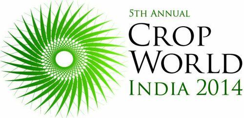 CropWorld India 2014 logo (PRNewsFoto/UBM India)