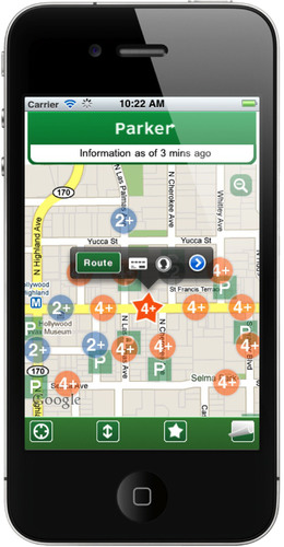 Streetline and the City of Los Angeles Unveil First Real-Time Parking App for iPhone