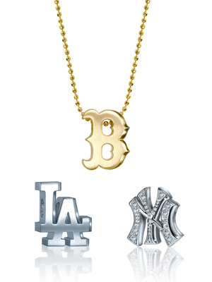 Jewelry Designer Alex Woo Brings Luxury to Major League Baseball.  (PRNewsFoto/Alex Woo)