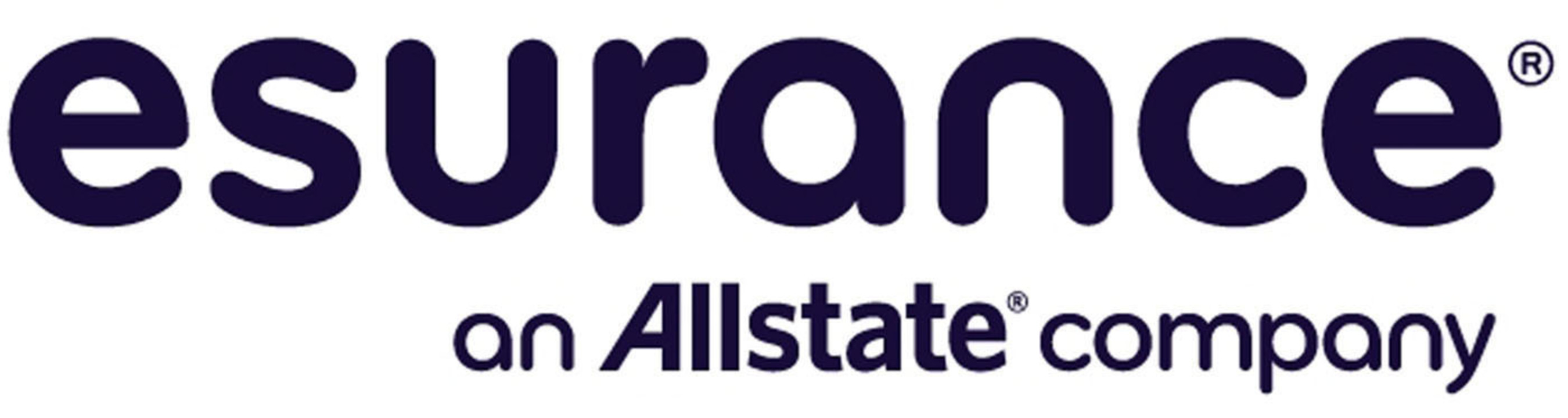 esurance an Allstate company Logo.