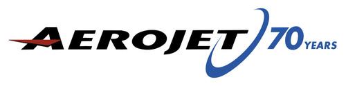 Aerojet 70 years logo.  (PRNewsFoto/Aerojet)