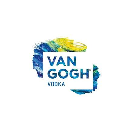 The new Van Gogh Vodka logo.