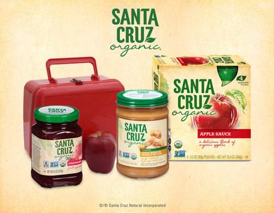 Build an organic lunch box this school year with Santa Cruz Organic.