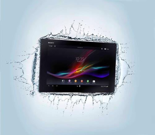 Sony's Xperia Tablet Z.  (PRNewsFoto/Sony Electronics)