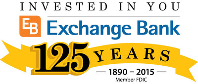 Exchange Bank celebrates 125 year Anniversary - May 1, 2015 - Santa Rosa, CA.