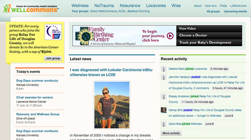 New Local Health Site Combines Journalism, Social Media