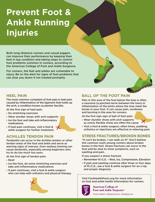 Austin Marathon Runners: Fit Feet Finish Faster - Foot & Ankle Surgeons Offer Tips to Prevent Injuries.
