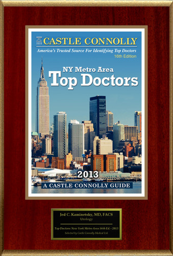 Dr. Jed C. Kaminetsky, Urology, is named a Top Doctor: New York Metro Area.  (PRNewsFoto/American Registry)