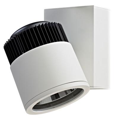 Amerlux Cylindrix IV Vertical LED Accent Track Head.  (PRNewsFoto/Amerlux)