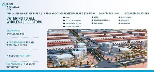 Sheikh Mohammed Bin Rashid Al Maktoum Launches AED30 Billion 'Dubai Wholesale City' - Largest Wholesale Hub Worldwide (PRNewsFoto/Dubai Wholesale City) (PRNewsFoto/Dubai Wholesale City)