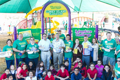 Nathan's Famous and KaBOOM! Build Coney Island Themed Playground in Florida