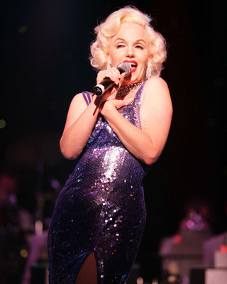 "Susan Griffiths has played Marilyn Monroe around the world to widespread acclaim, including in Las Vegas' illustrious ""Legends in Concert.""  (PRNewsFoto/Crystal Cruises)"
