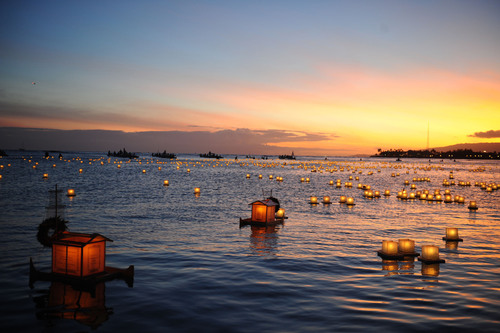 Today marks the 15th annual Lantern Floating Hawaii ceremony, one of the largest and most moving Memorial Day ...