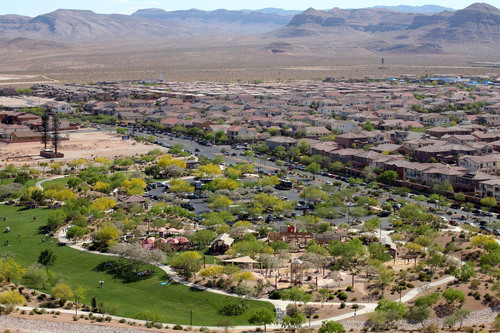 Mountain's Edge in Las Vegas was named the fourth fastest-selling master planned community in the country ...