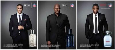 "HUGO BOSS Parfums Launch ""SUCCESS BEYOND THE GAME"" NFL Campaign (PRNewsFoto/HUGO BOSS Parfums)"
