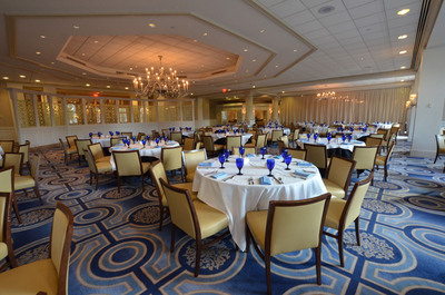 The Westfields Marriott Washington Dulles will offer a traditional Thanksgiving Day brunch in the modern elegance of its newly decorated Chantilly dining room, Palm Court. The Chantilly restaurant will present this special Thanksgiving brunch on Thursday, Nov. 28, 2013, with seating available from 11 a.m. to 2:30 p.m. Brunch is $70 plus tax and gratuity for adults, $24 for children ages 5 to 10, and complimentary for children ages 4 and younger. For reservations, call 1-703-818-3520. Hotel information: www.WestfieldsMarriott.com.  (PRNewsFoto/Westfields Marriott Washington Dulles)