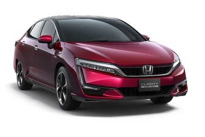 Honda Shares Clarity Fuel Cell U.S. Pricing and Sales Plans