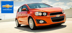 The many class-exclusive distinctions of the 2013 Chevy Sonic are available at Mike Castrucci Chevrolet. (PRNewsFoto/Mike Castrucci Chevrolet)