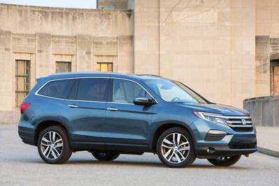 "Honda Named ""2016 Best SUV Brand"" by U.S. News & World Report for CR-V, all-new HR-V and Pilot"