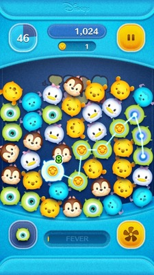 "LINE: Disney Tsum Tsum features the popular ""Tsum Tsum"" (meaning ""stack stack"") series of stuffed toys based on popular Disney characters."