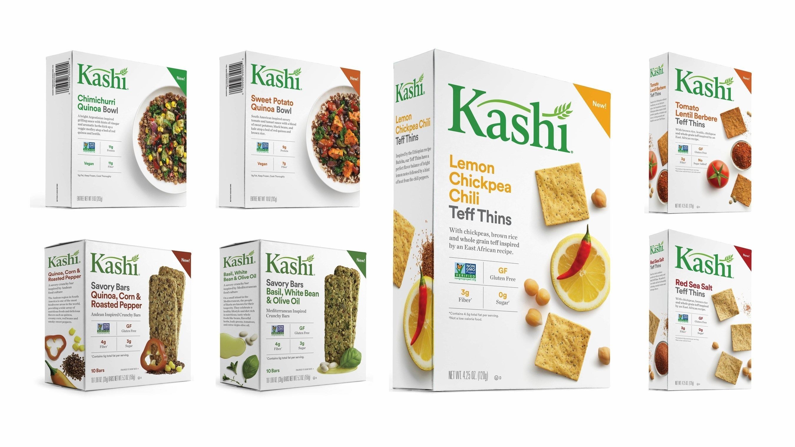 Kashi's new plant-centric foods are rooted in tradition and feature ancient grains and bold, savory flavors