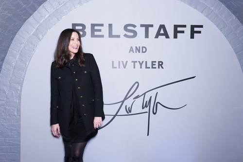 Belstaff Ambassador and Creative Contributor Liv Tyler presenting her Capsule Collection and short film, 'Falling Up', at London Fashion Week (PRNewsFoto/Belstaff) (PRNewsFoto/Belstaff)