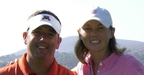 Tracy Lane and her husband Derek Lane, of La Quinta, Calif., created the Tracy Lane Foundation after Tracy was diagnosed with stage 3B cervical cancer. The mission of the foundation is to promote early detection by encouraging women to get regular check ups including Pap smear exams and HPV screenings and vaccinations. (PRNewsFoto/DUX Dental) (PRNewsFoto/DUX DENTAL)