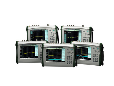 Anritsu Company's new Spectrum Master MS2720T family of handheld spectrum analyzers.  (PRNewsFoto/Anritsu Company)
