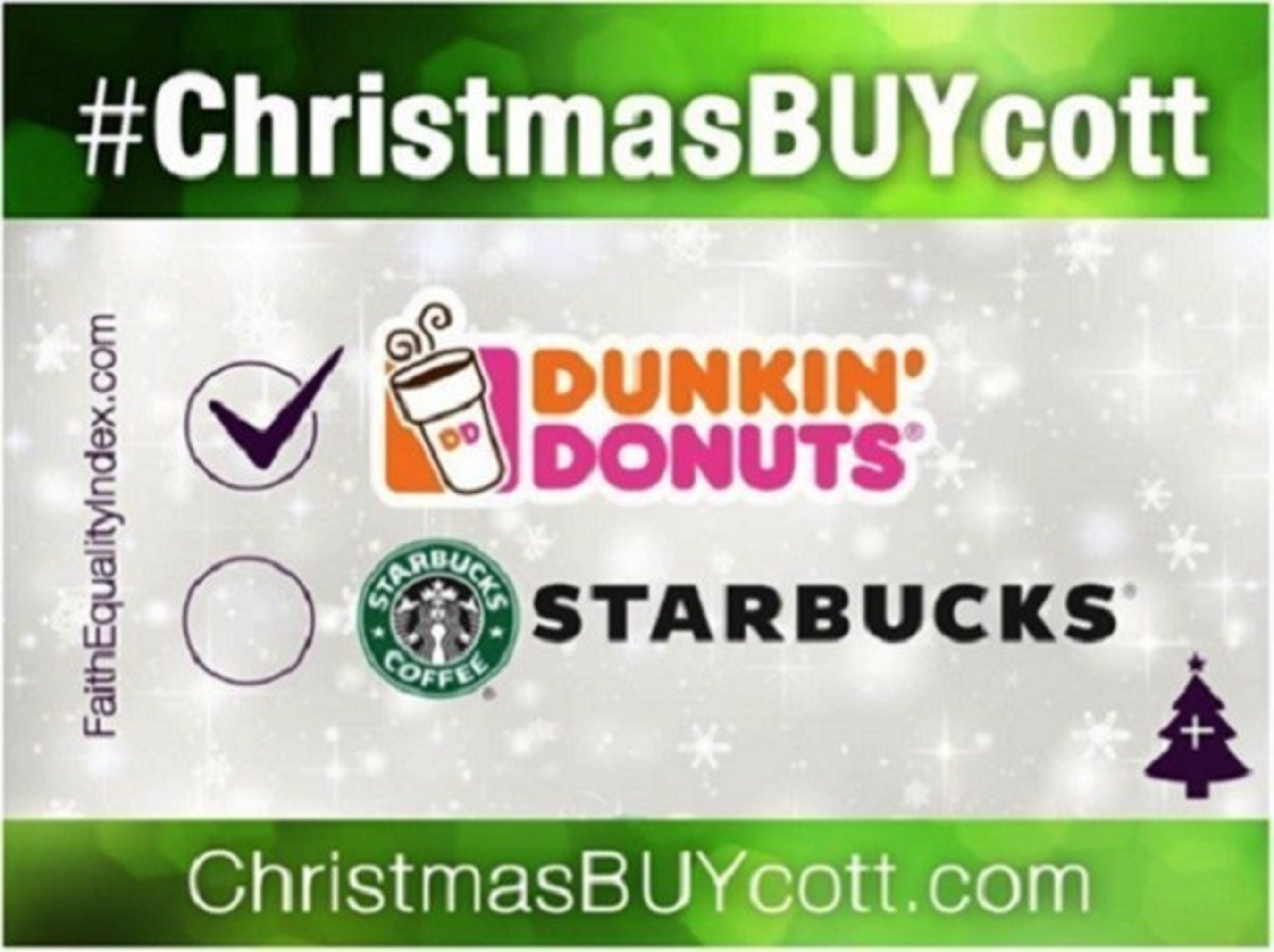 Faith Driven Consumer reports: Dunkin\' Donuts Trumps Starbucks with ...