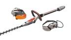 Design concept Husqvarna Ramus - hedge trimmer, visor and hip belt battery (PRNewsFoto/Husqvarna)