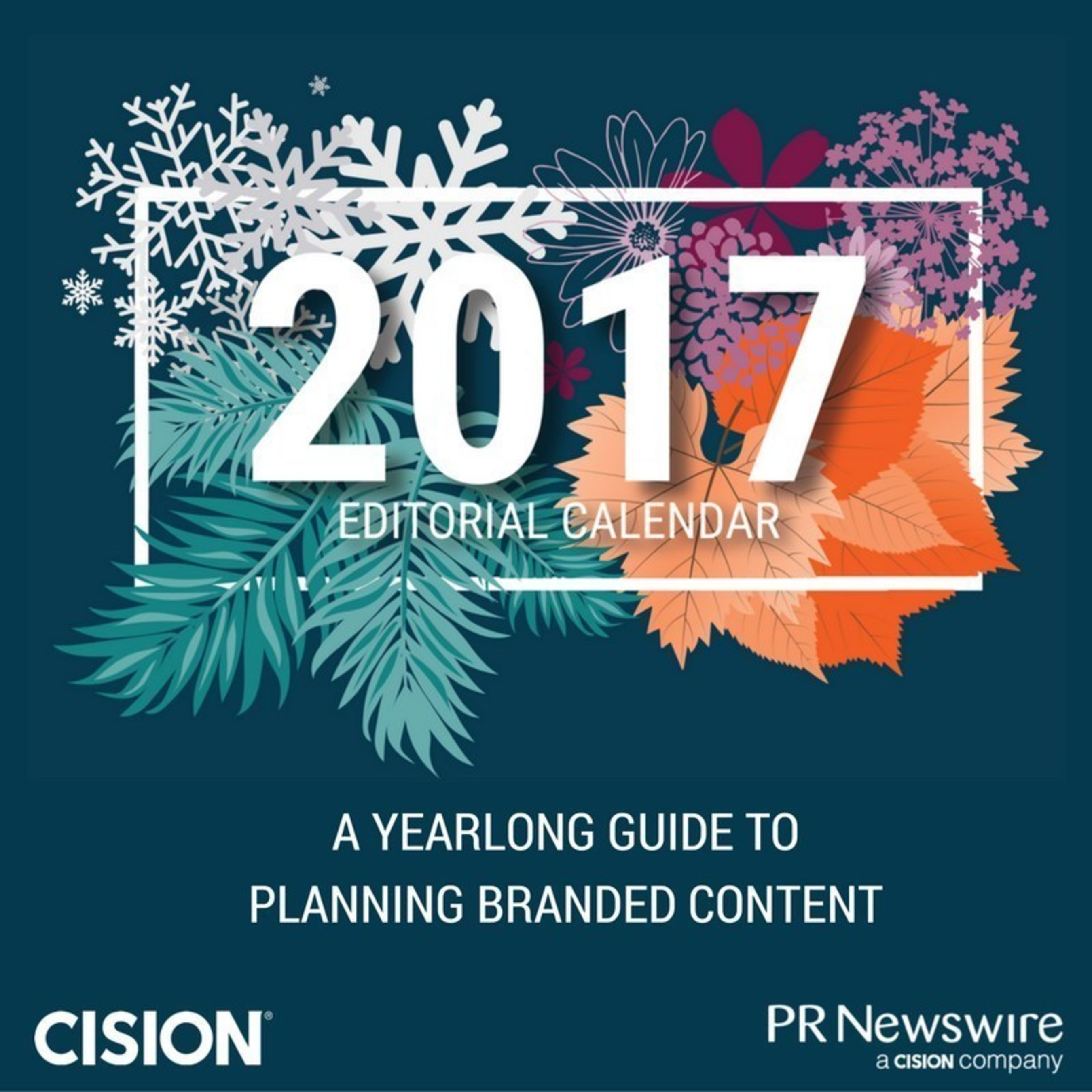 Christian News Wire | Pr Newswire Releases Interactive Editorial Content Calendar For 2017
