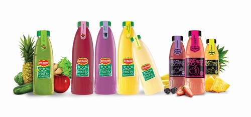 Del Monte Ultra Fresh Juices and Fresh Fruit Smoothies contain no preservatives, nor additional colours or flavours (PRNewsFoto/Del Monte) (PRNewsFoto/Del Monte)