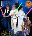 ExtraCare Charitable Trust Shenley Wood Village residents dress up for Star Wars for the Village's  2015 Hollywood Calendar