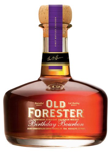 Limited Release 2013 Old Forester® Birthday Bourbon Set to Hit Shelves in August