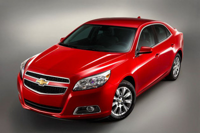 The IIHS Top Safety Pick was awarded to the 2013 Chevy Malibu Eco, which is available in Naperville, IL.  (PRNewsFoto/Chevrolet of Naperville)