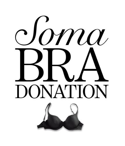 Soma Intimates Bra Donation - Giving Is Beautiful. (PRNewsFoto/Chico's FAS, Inc.) (PRNewsFoto/CHICO'S FAS, INC.)