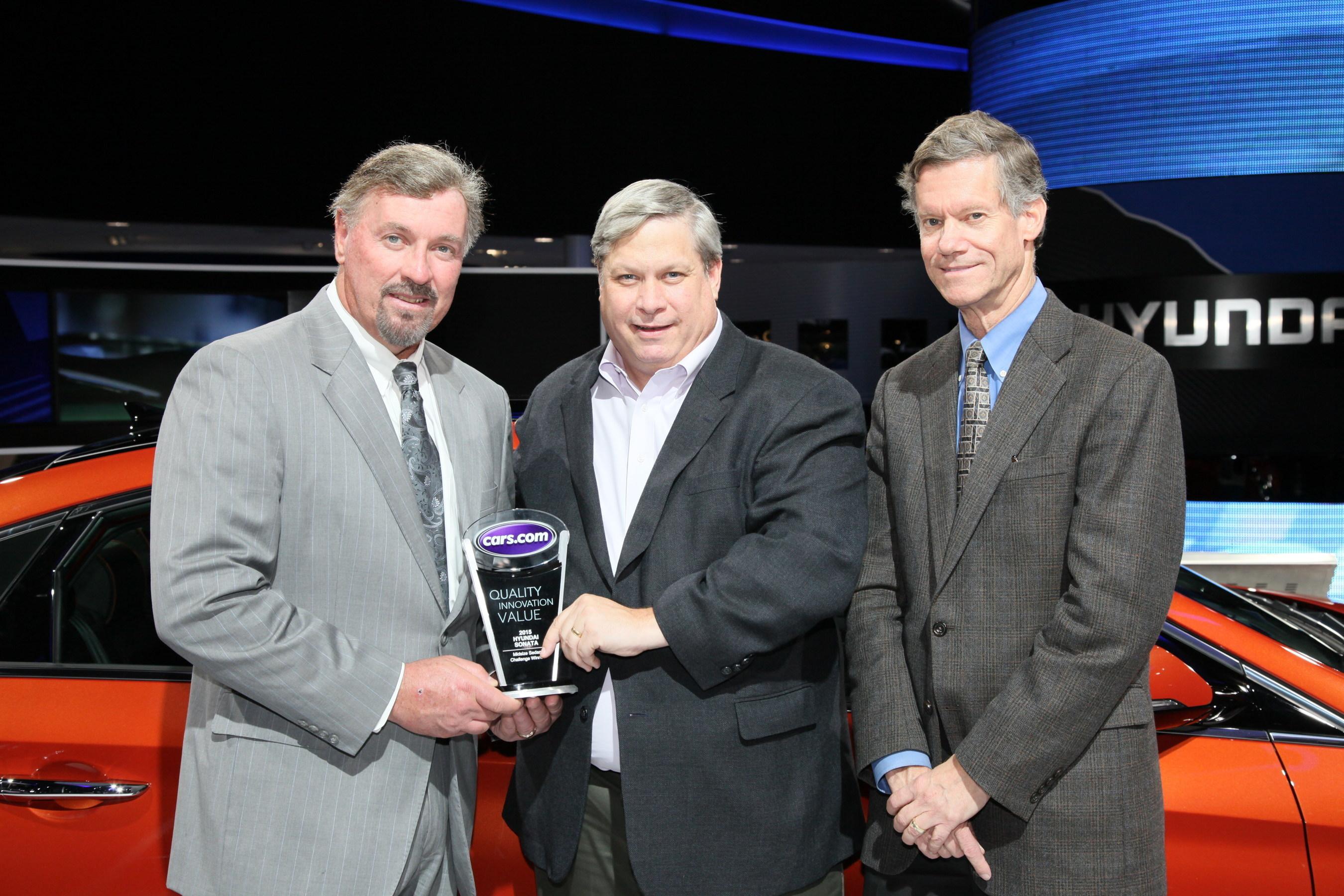 O Brien Hyundai >> Redesigned Hyundai Sonata Wins Cars Com Usa Today