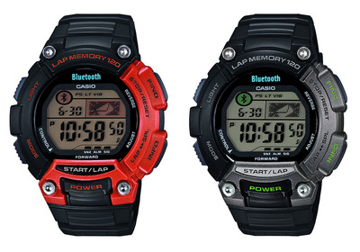 Casio Releases New Sports Watch Compatible With Mobile Fitness Apps.  (PRNewsFoto/Casio America, Inc.)