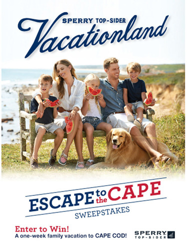 Escape to the Cape With Sperry Top-Sider® Kids