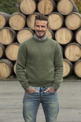 David Beckham visits Diageo Cooperage in Scotland