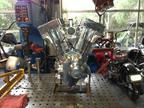 Renegade 147ci Diamond Cut Billet Engine.  (PRNewsFoto/Novagen Ingenium Inc.)
