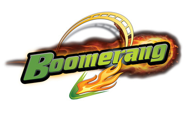 In 2013 Boomerang will take guests at Six Flags St. Louis, Missouri's Coaster Capital, soaring through 1,650 feet of steel twists, turns and inversions at up to 50 mph. The 28 passenger trains are pulled backward up a 125-ft lift hill before being launched through a half loop, a right half corkscrew, a left half corkscrew, another half loop and finally a full loop before climbing a second lift hill to repeat the entire ride again in reverse. Boomerang brings the park's roller coaster count to nine.