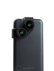 olloclip(R) (www.olloclip.com), the creator of easy-to-use mobile photography tools, expands into Android(R) mobile device platforms with the olloclip 4-IN-1 Photo Lenses for the Samsung(R) Galaxy(R) S5 and S4. (PRNewsFoto/olloclip)