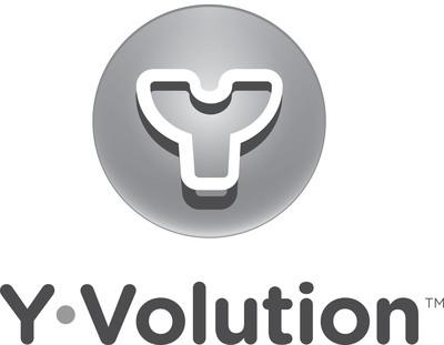 Yvolution logo.