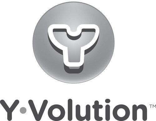 Yvolution logo. (PRNewsFoto/Yvolution) (PRNewsFoto/)