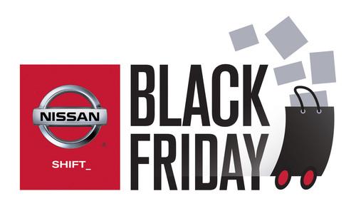 Nissan Black Friday Logo.  (PRNewsFoto/Nissan North America)