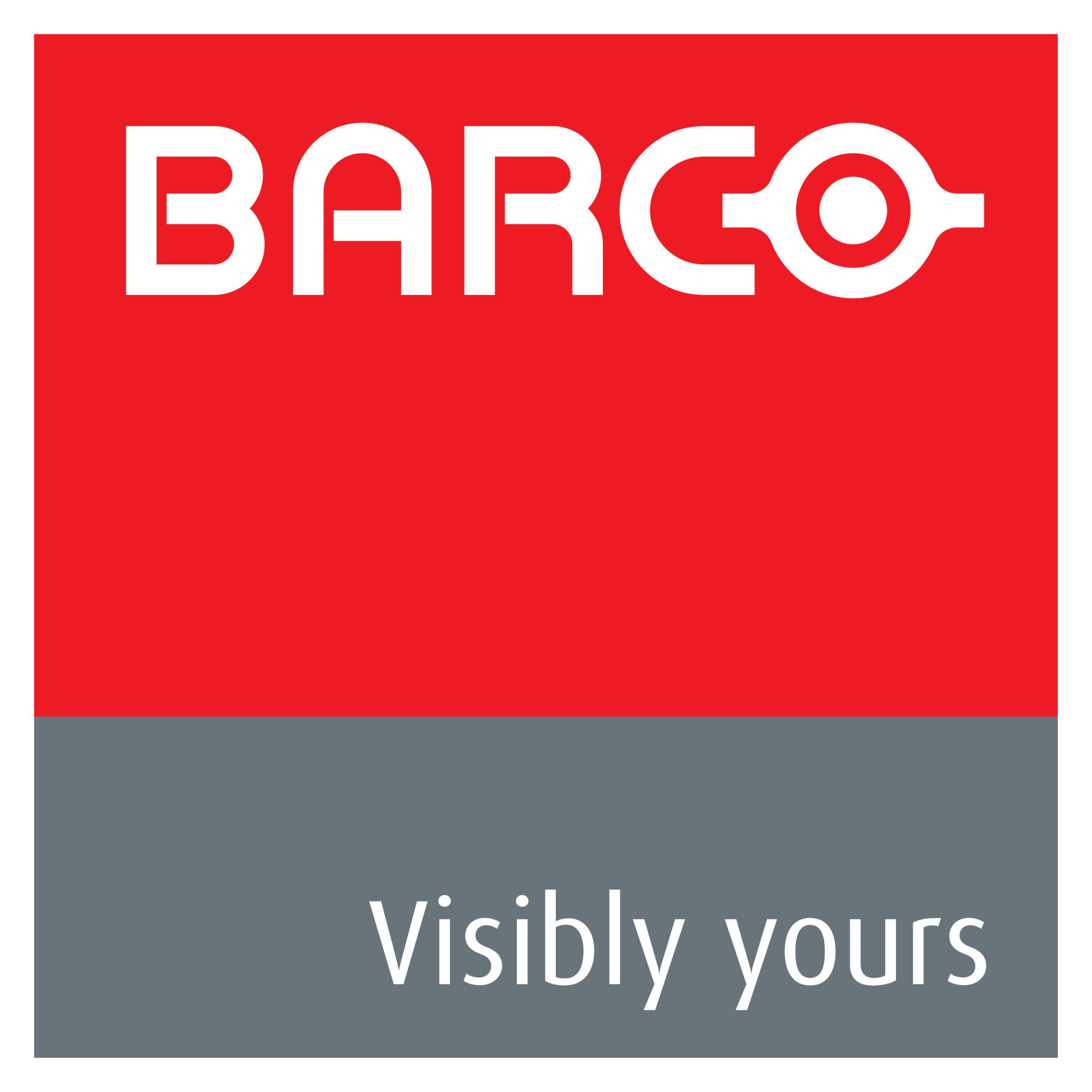 BARCO LOGO (PRNewsFoto/Barco Electronic Systems)