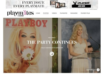 Playboy Enterprises, Inc. announced today the launch of a brand new website, Playmates.com, which features 60 years of the magazine's Playmates. (PRNewsFoto/Playboy Enterprises, Inc.)