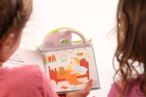 The Sparkup(R) Magical Book Reader is an innovative device that merges the non-digital world of printed books ...